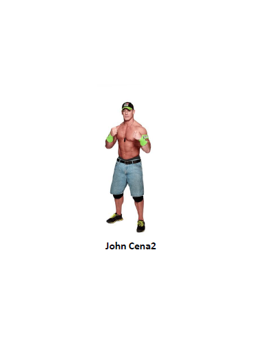 FIGURA JHON CENA2 WWE