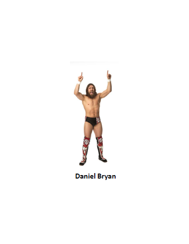 FIGURA DANIEL BRYAN WWE