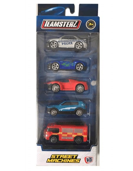 BLISTER COCHES TEAMSTERZ (PACK 5)
