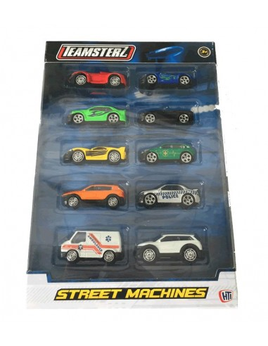 BLISTER COCHES TEAMSETRZ (PACK 10)