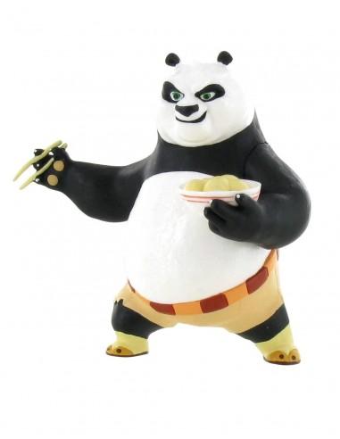 FIGURA PO 3 COMIENDO KUNG FU PANDA