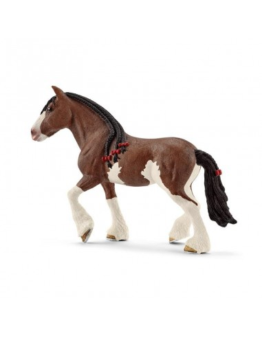 FIGURA YEGUA CLYDESDALE