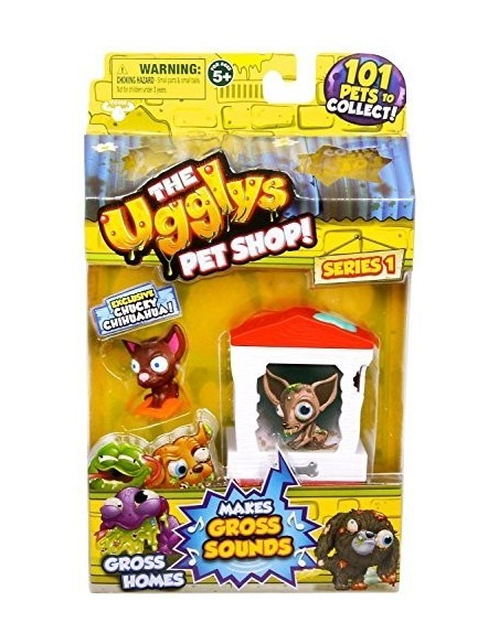 BLISTER THE UGGLYS PET SHOP SERIE1